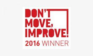 Logo of Don't Move, Improve! Awards