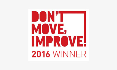 Logo of Don't Move, Improve! Awards