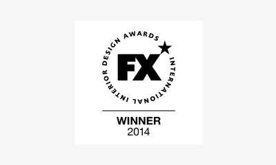 Logo of FX International Interior Design Awards