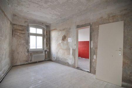 Berlin Reinickendorfer Str, Rückbau der Wohnungen