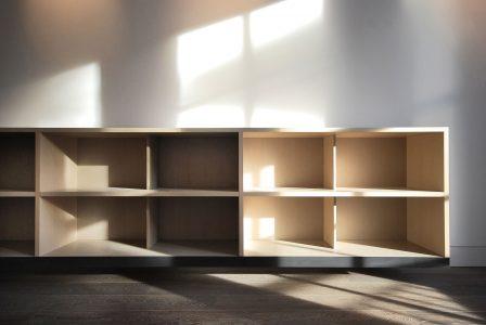 Argyll House, book shelf