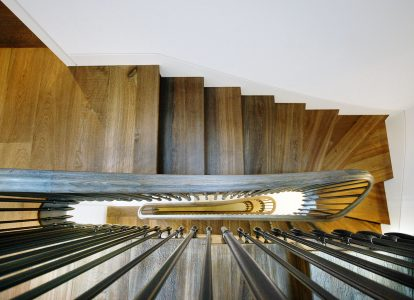Argyll House, staircase from above