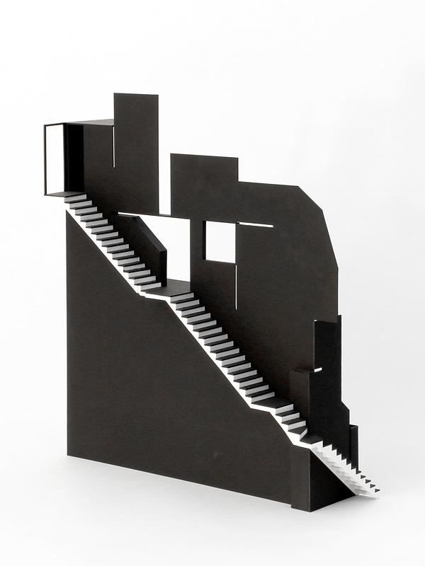Kaskadenhaus, Treppenmodel