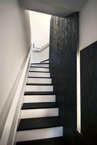 Cascade House, staircase