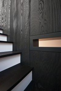 Cascade House, staircase detail