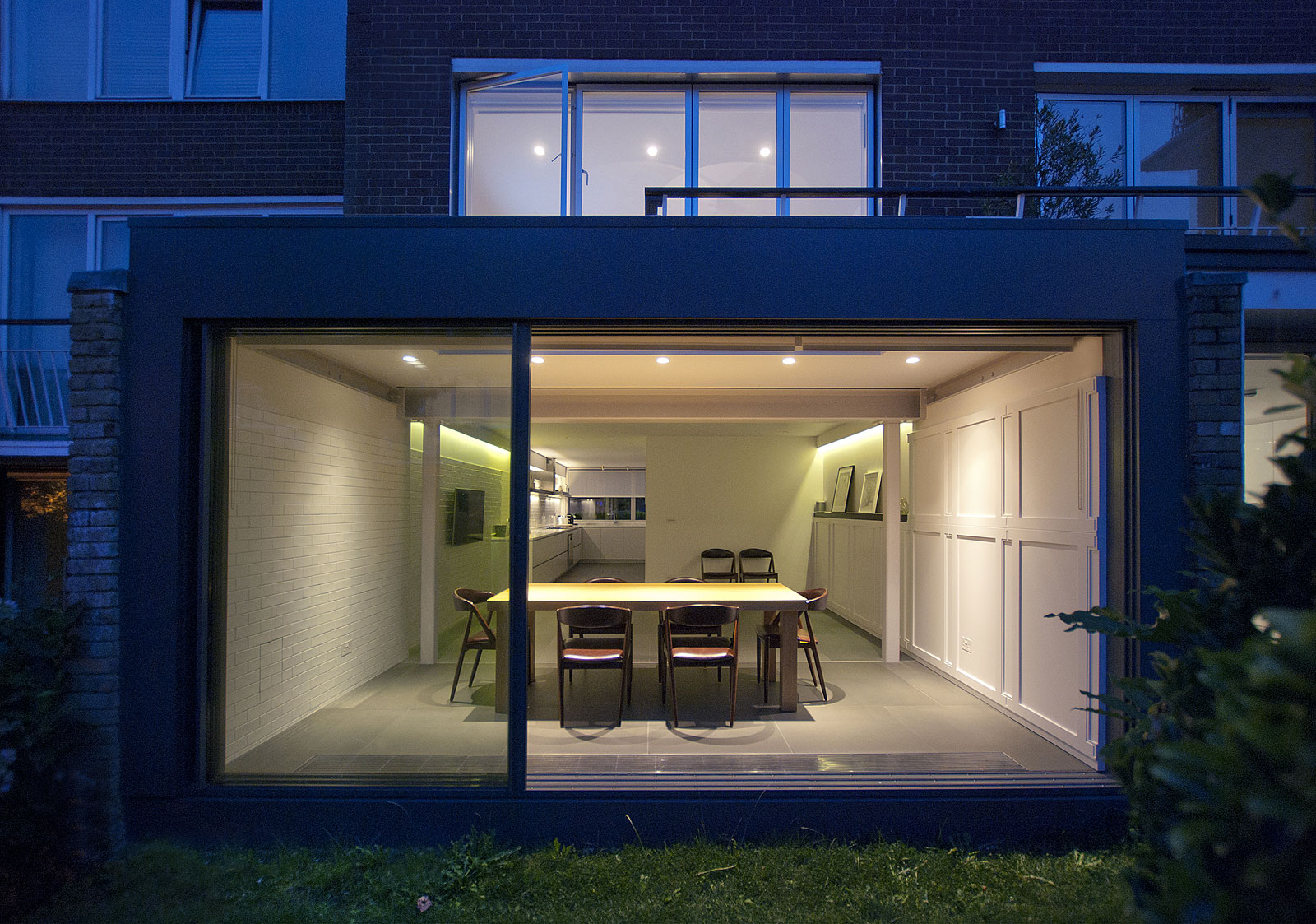 Eclectic House, rear extension
