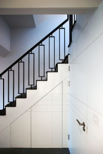 Eclectic House, staircase and bespoke joinery