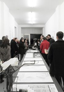 Sensitive Geometries exhibition opening