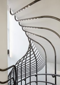 curved steelwork