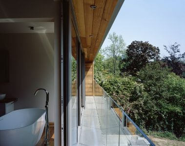 The Coppice, photo of bathroom and balcony