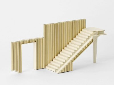 Conerted Garage: staircase model