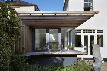 Rear elevation of Wimbledon Garden Room