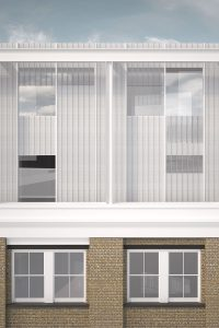Apex Apartments, visual of facade detail