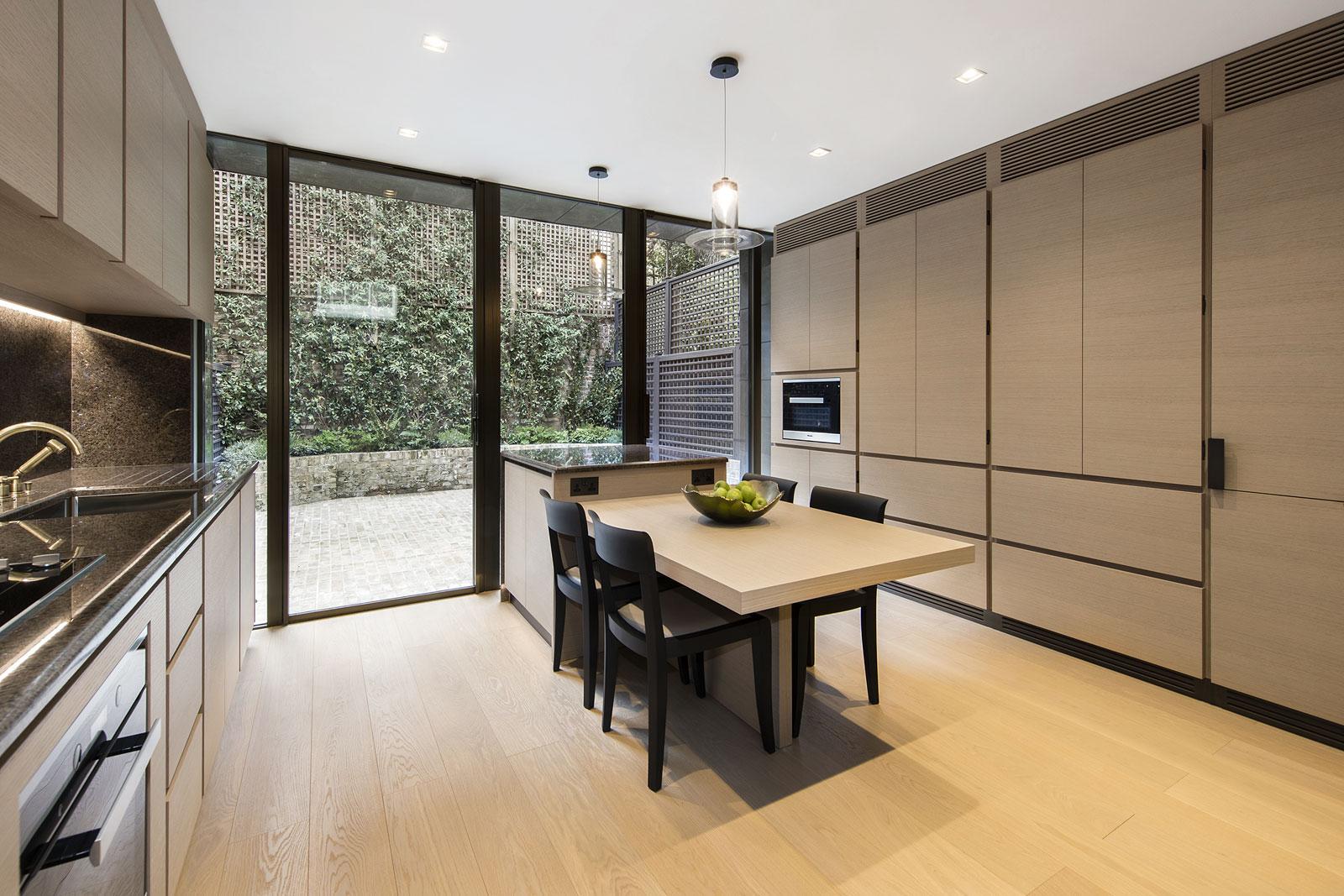 Knightsbridge House, kitchen