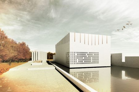 Centenary Chapel, visualisation of exterior