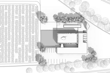 Centenary Chapel, drawing of site plan