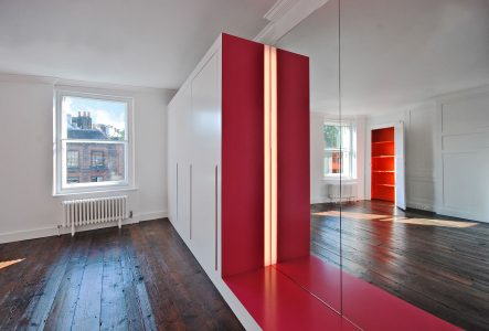 Casa Roja, built-in joinery