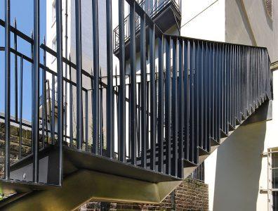 Garden staircase, Detail