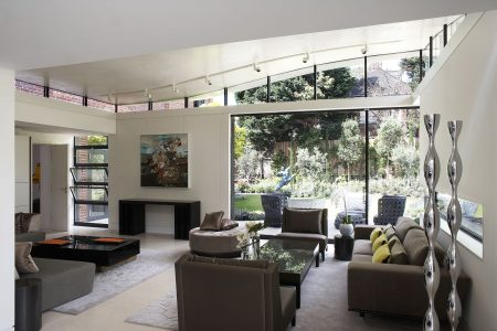 Grove Residence, interior of extension