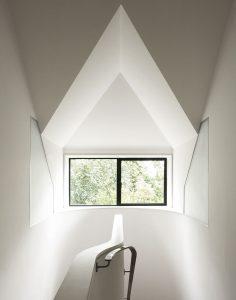 Grove Residence, internal dormer arrangement