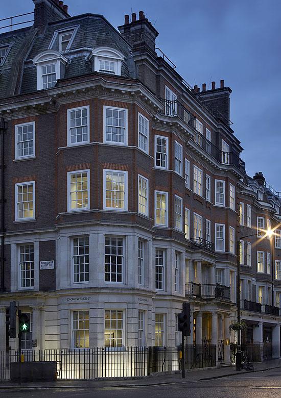 Grosvenor Street, external view