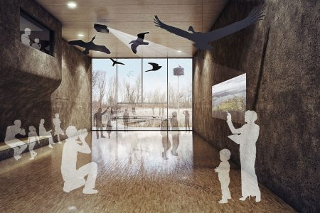 Nabu visitor centre, exhibition hall