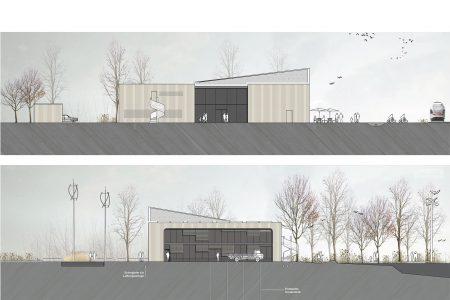 Nabu visitor centre, facades