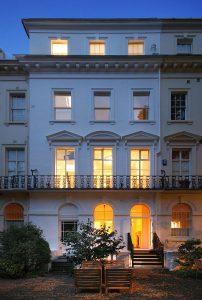 Park House, rear facade