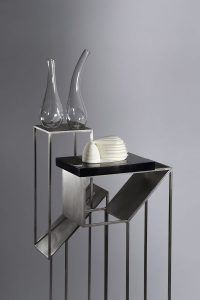 Twisted Plinths with objects