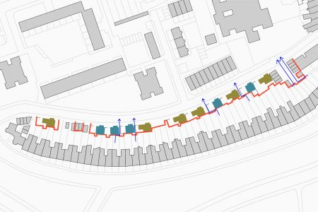 Victoria Park Village site plan