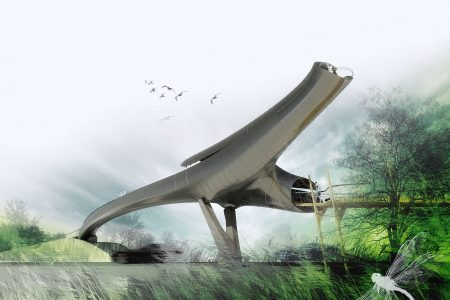 Visualisation of Wetland Bridge