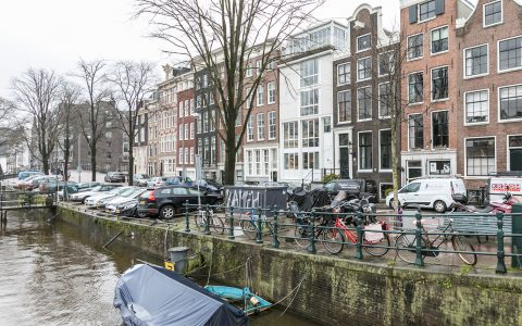 Canal view of Amstel Canal House