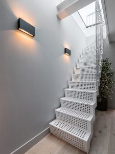 staircase in Amstel Canal House