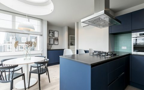 kitchen in Amstel Canal House