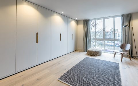 Bedroom in Amstel Canal House