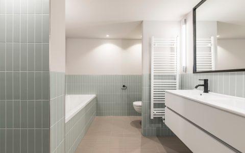 bathroom of Amstel Canal House