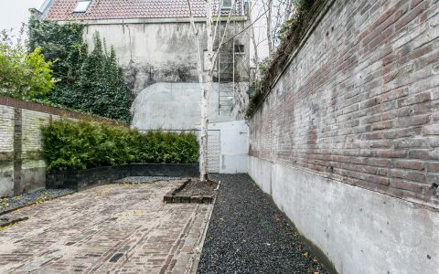 Rear Garden of Amstel Canal House