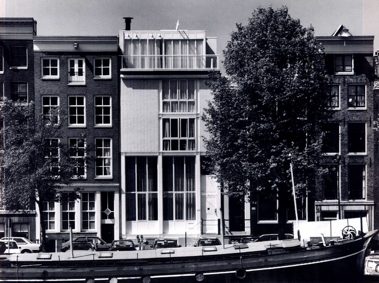 Historic view of Amstel Canal House