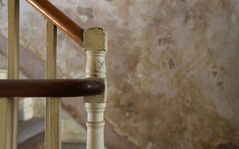 Original staircase banister