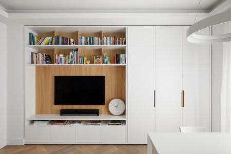 EC1 Penthouse: Built-in bespoke joinery