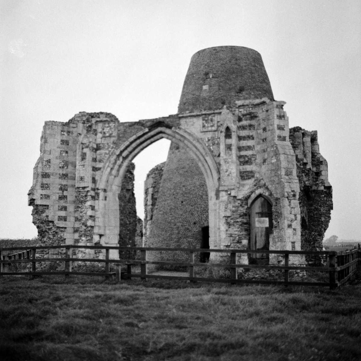 Photograph of St Benet's Abbey in Ludham