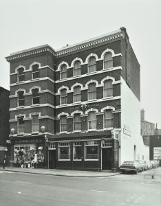 Historic Photograph of former Bird in Hand pub on Hampstead High Street