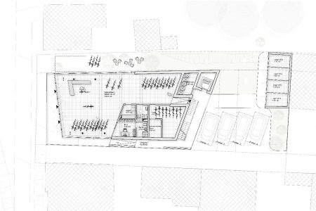 Rostocker Strasse ground floor plan
