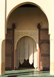 Marrakech, detail of Le Jarden Secret