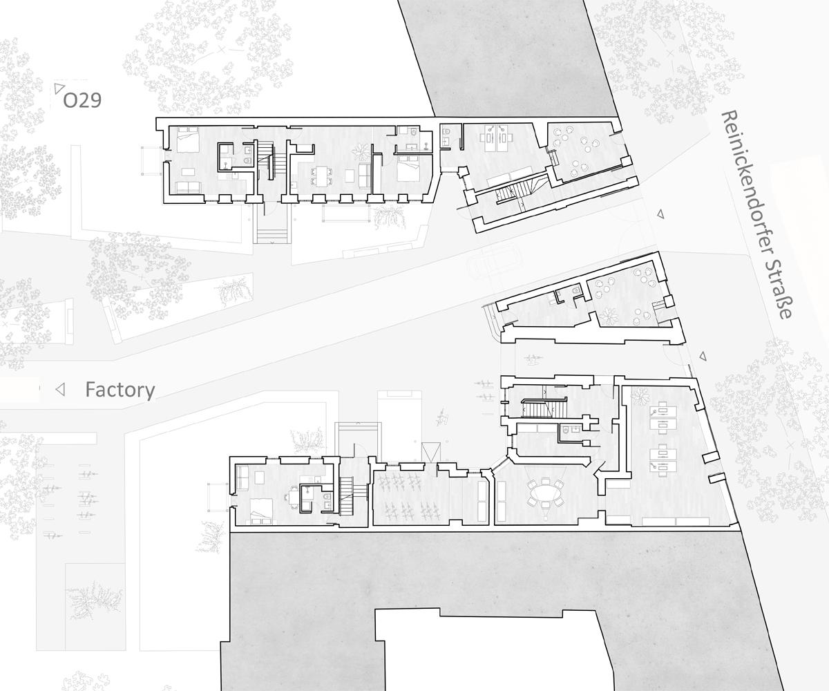 Reinickendorfer 65 6 & 66, new ground floor layout