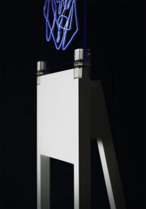 art stand, detail