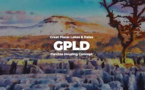 Great Place: Lakes and Dales Flexible Housing Competition, water colour image