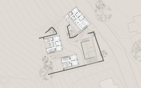 Flexible Housing: upper floor of proposal