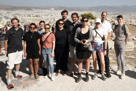 Athens offie trip, Patalab team