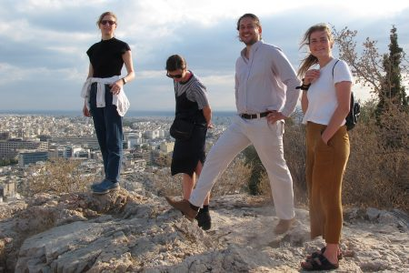 Athens office trip, Patalab team